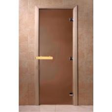 Дверь для бани Doorwood матовая 8 мм