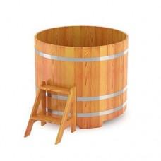 Купель круглая лиственница
